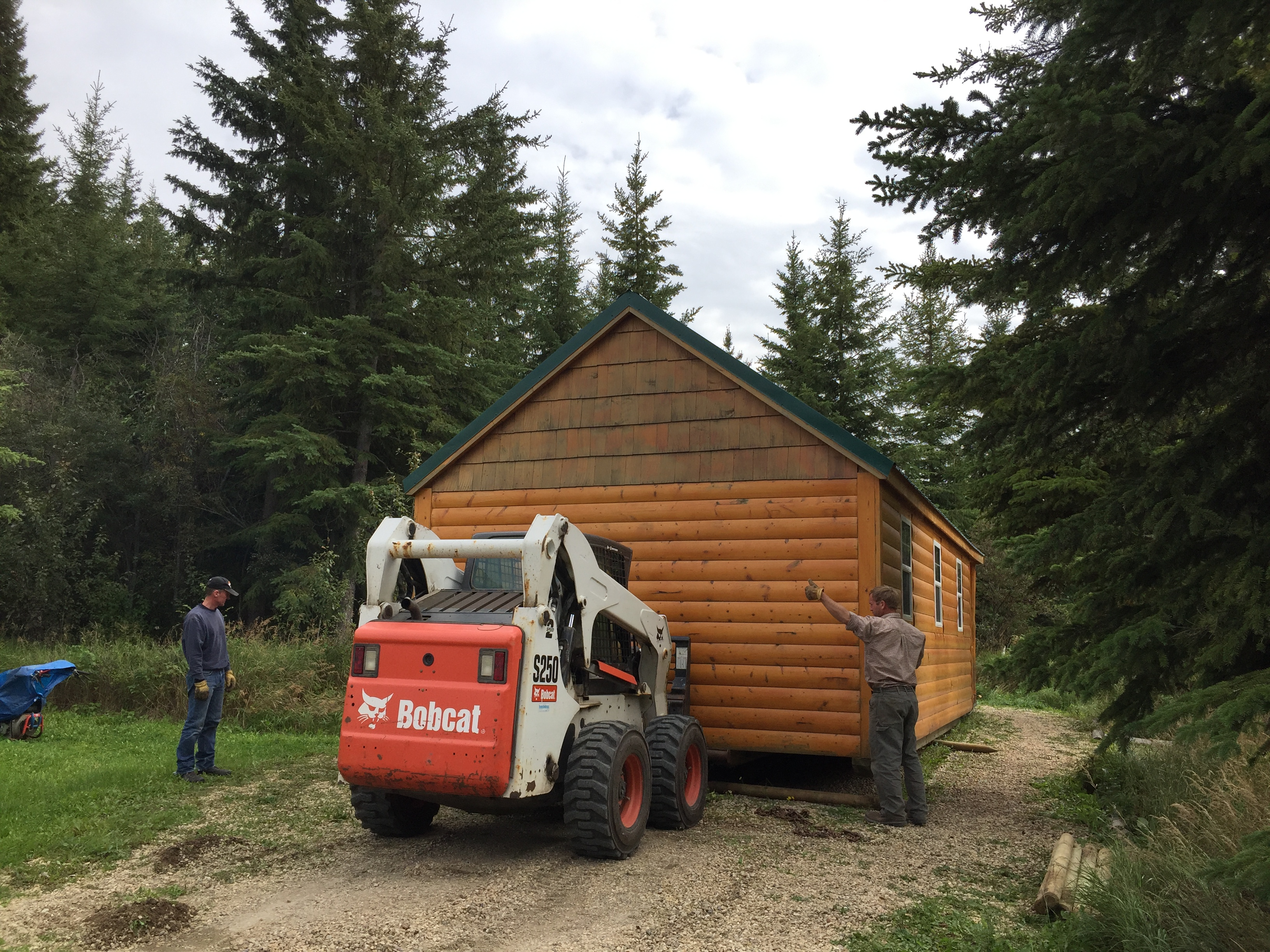 Moving the Little Cabin